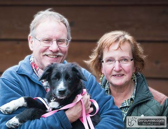 Mitzy-Black and White Bi Girl - Is with Aho family in MN